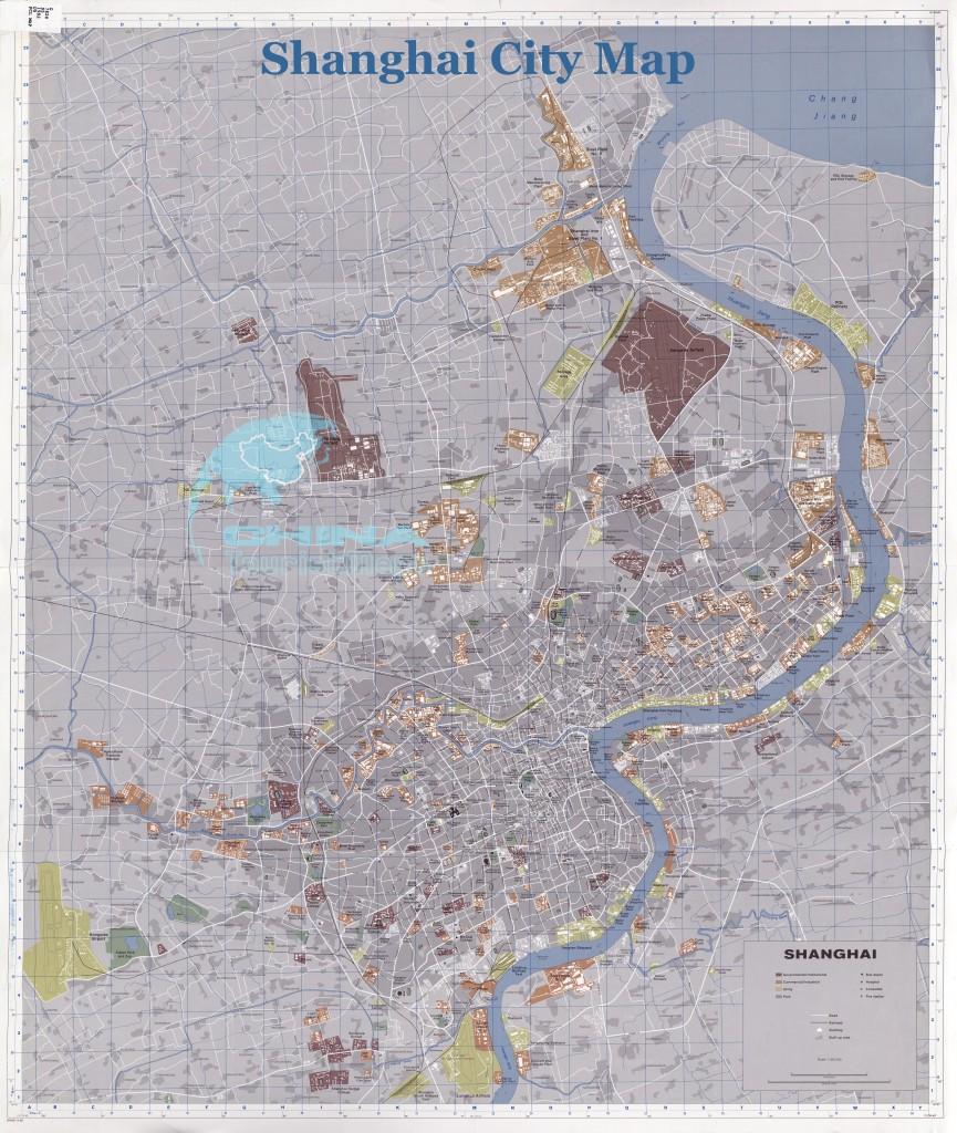 Plan-tres-haute-resolution-de-Shanghai