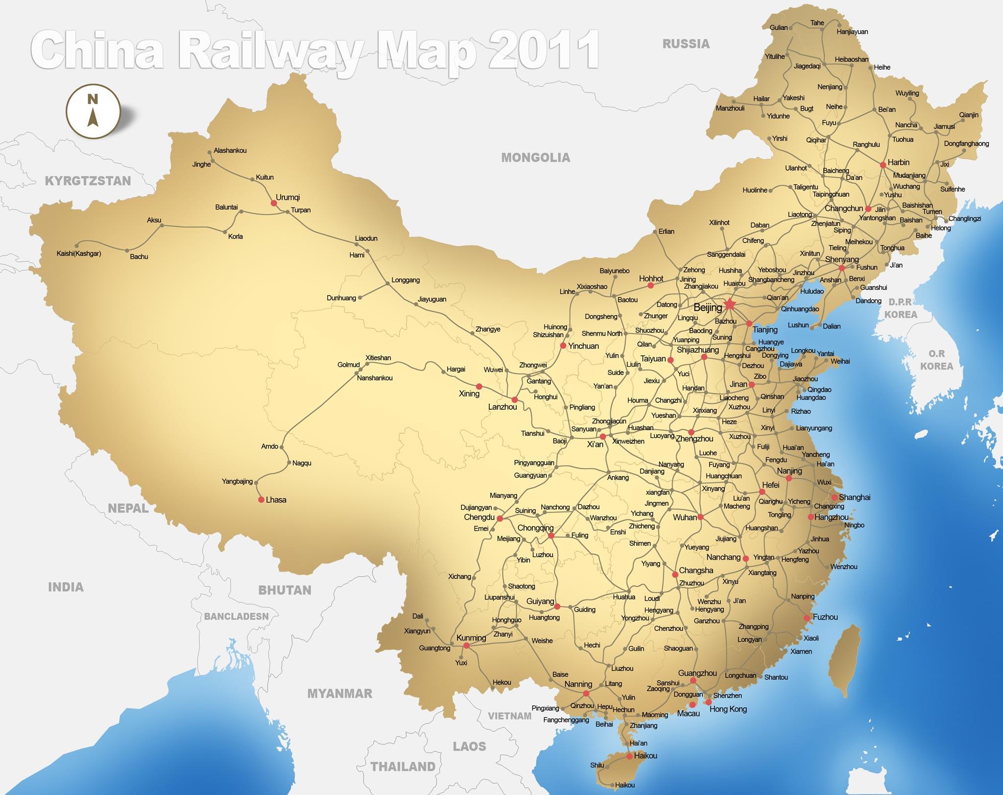Carte Chine Pekin Shanghai.Train Chine Les Etapes Essentielles D Un Voyage En Train
